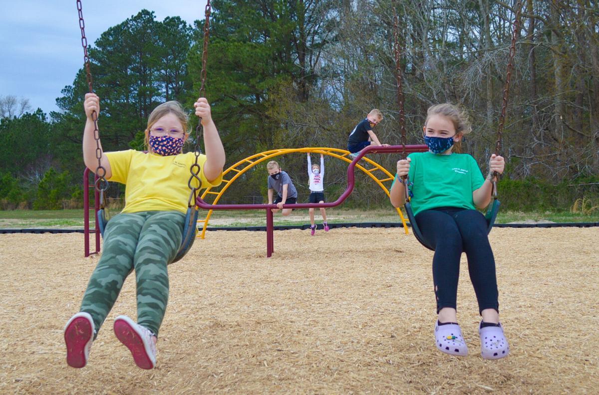 JMC playground swings