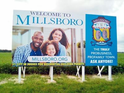 Millsboro billboard
