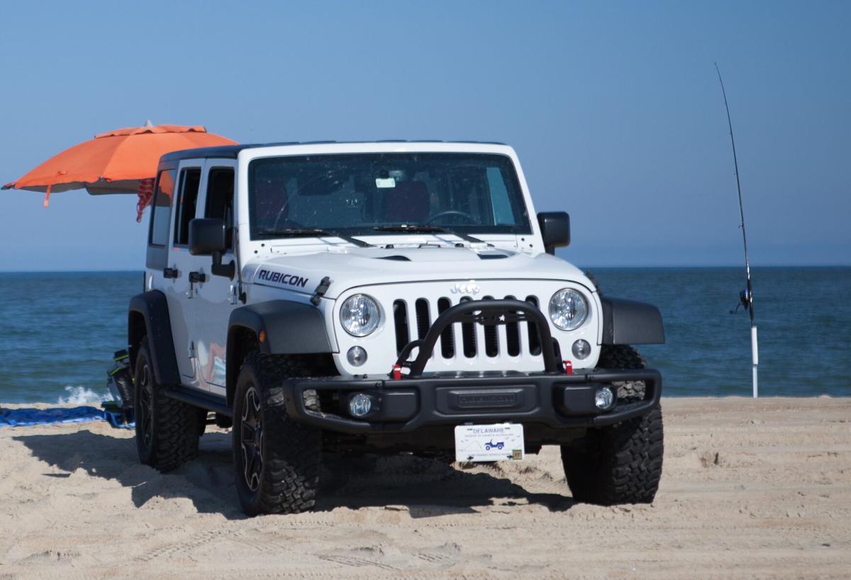 Surf-fishing drive-on