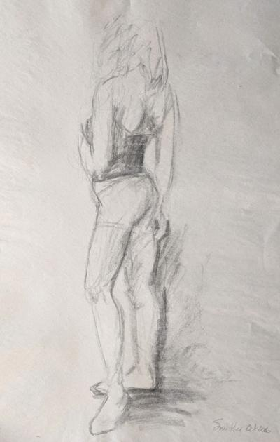 Beginning Figure Drawing from Life class at RAL
