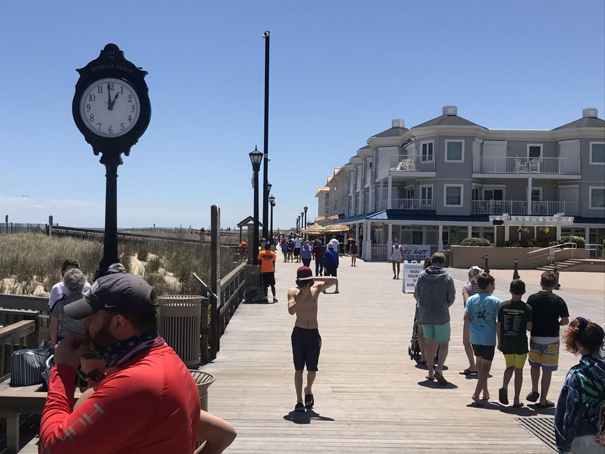 Bethany Beach on May 31, 2020