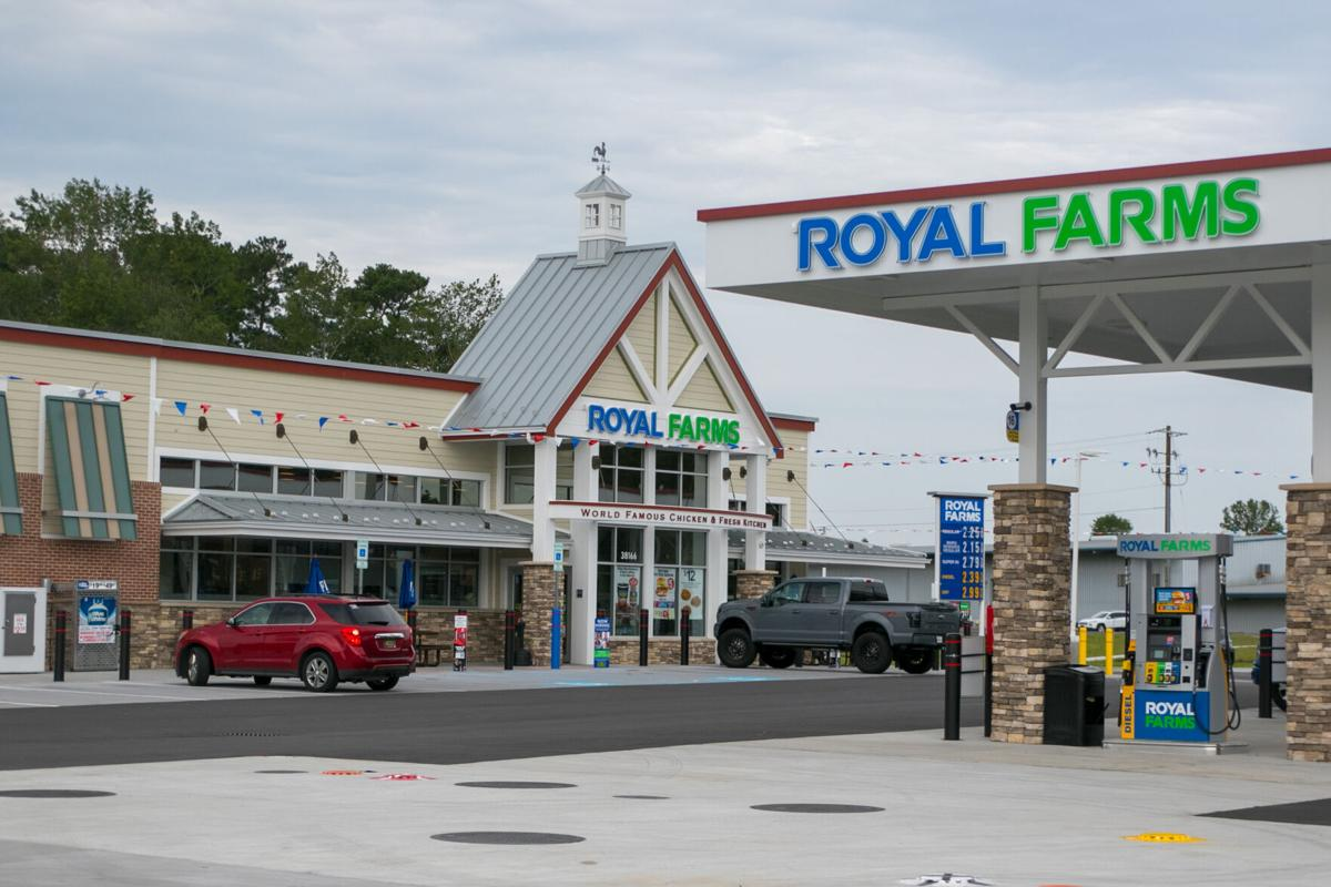 Royal Farms shop on Route 113 Selbyville