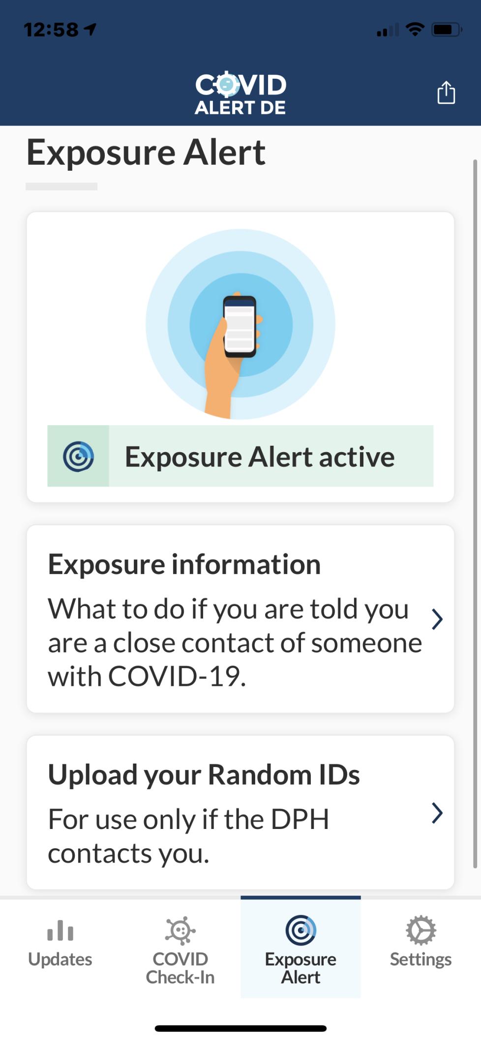 COVID alert 2