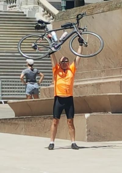 Jeff Hilovsky bike ride