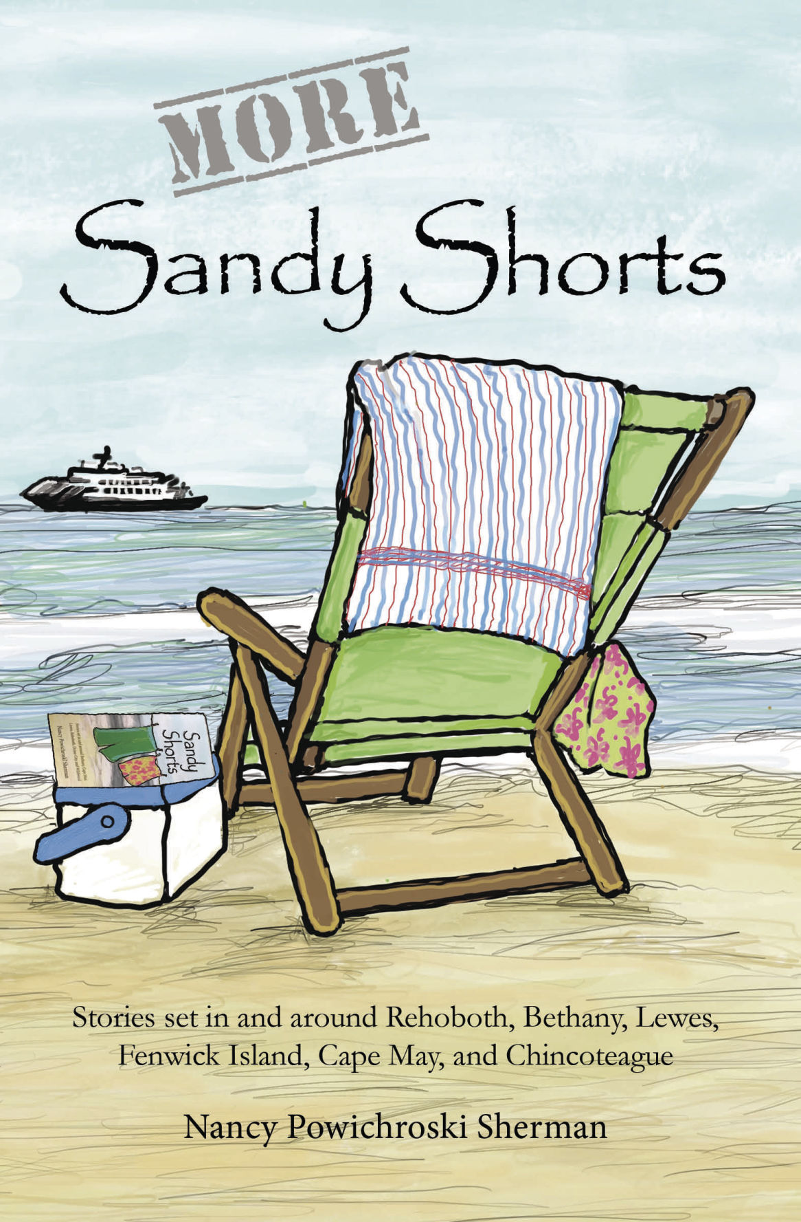 More Sandy Shorts front cover
