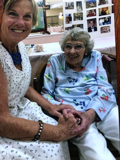 Seniors Helping Seniors, Amy McDermott w client
