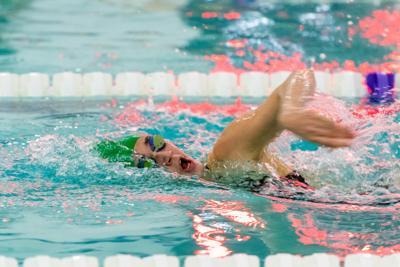 IRHS Bella Scharp swimming 2020-2021
