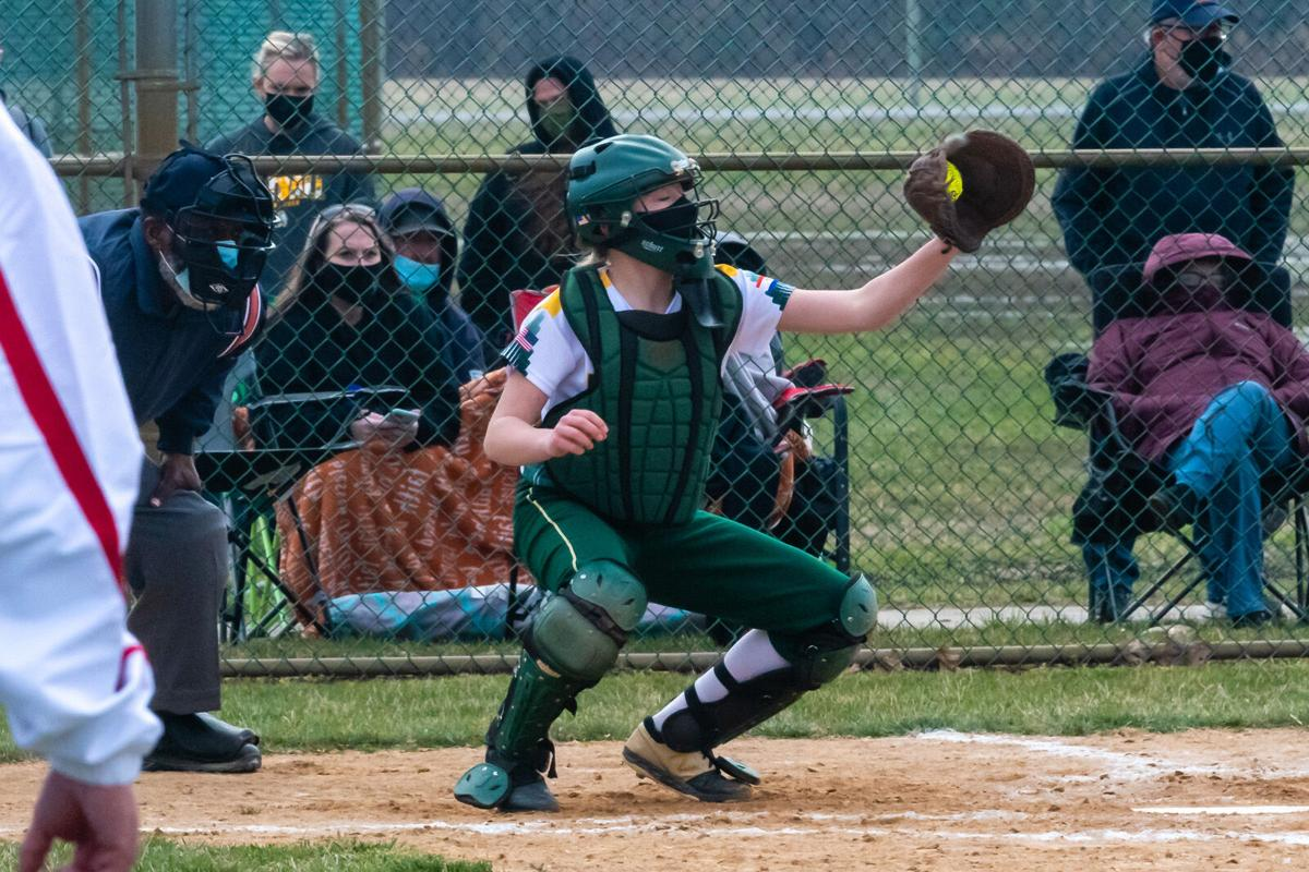Indians catcher Lily Hoban