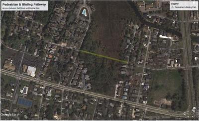 Proposed Bethany Beach pedestrian and birding pathway