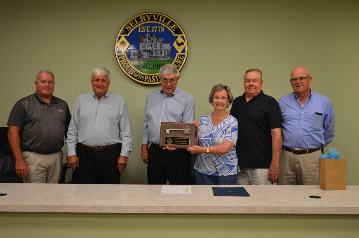 Virginia Pepper and Selbyville Town Council