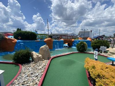 Nick's Mini Golf Down Under is fun for all, mate