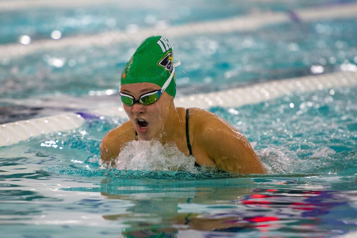 Emma Barthelmess on swim team