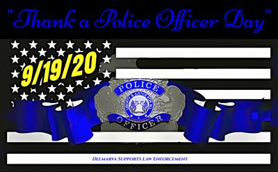 Thank a Police Officer Day 2020