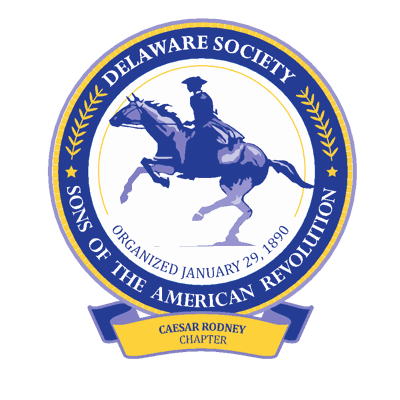 Caesar Rodney Chapter, Delaware Society of the Sons of the American Revolution logo