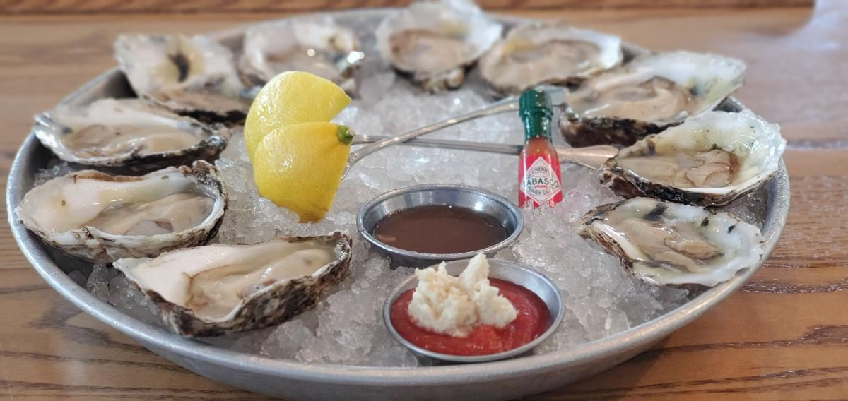 SoDel oysters on the half-shell