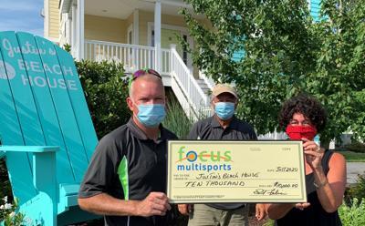 Focus Multisports presents donation