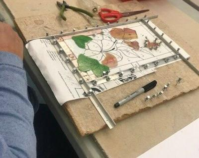 RAL Beginner Stained Glass class
