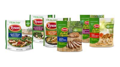 Tyson recalls chicken products