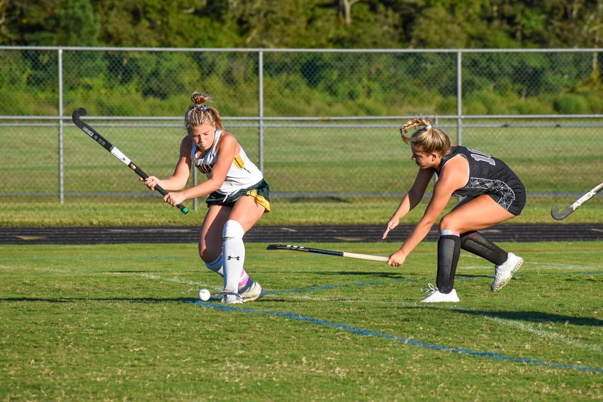 Emma Ruley fires a shot vs. Sussex Tech