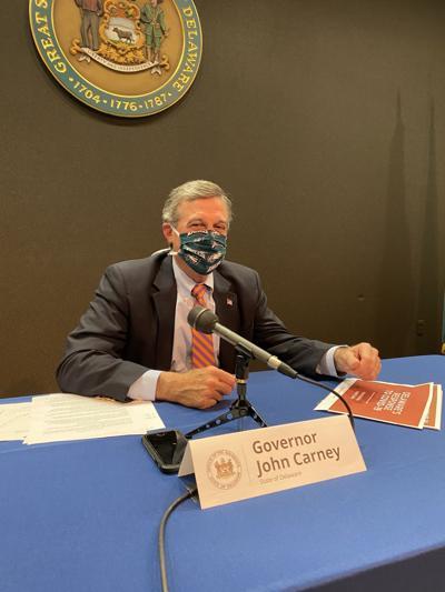 Gov. John Carney with face mask 2