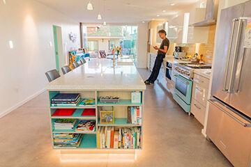 8th Street home kitchen