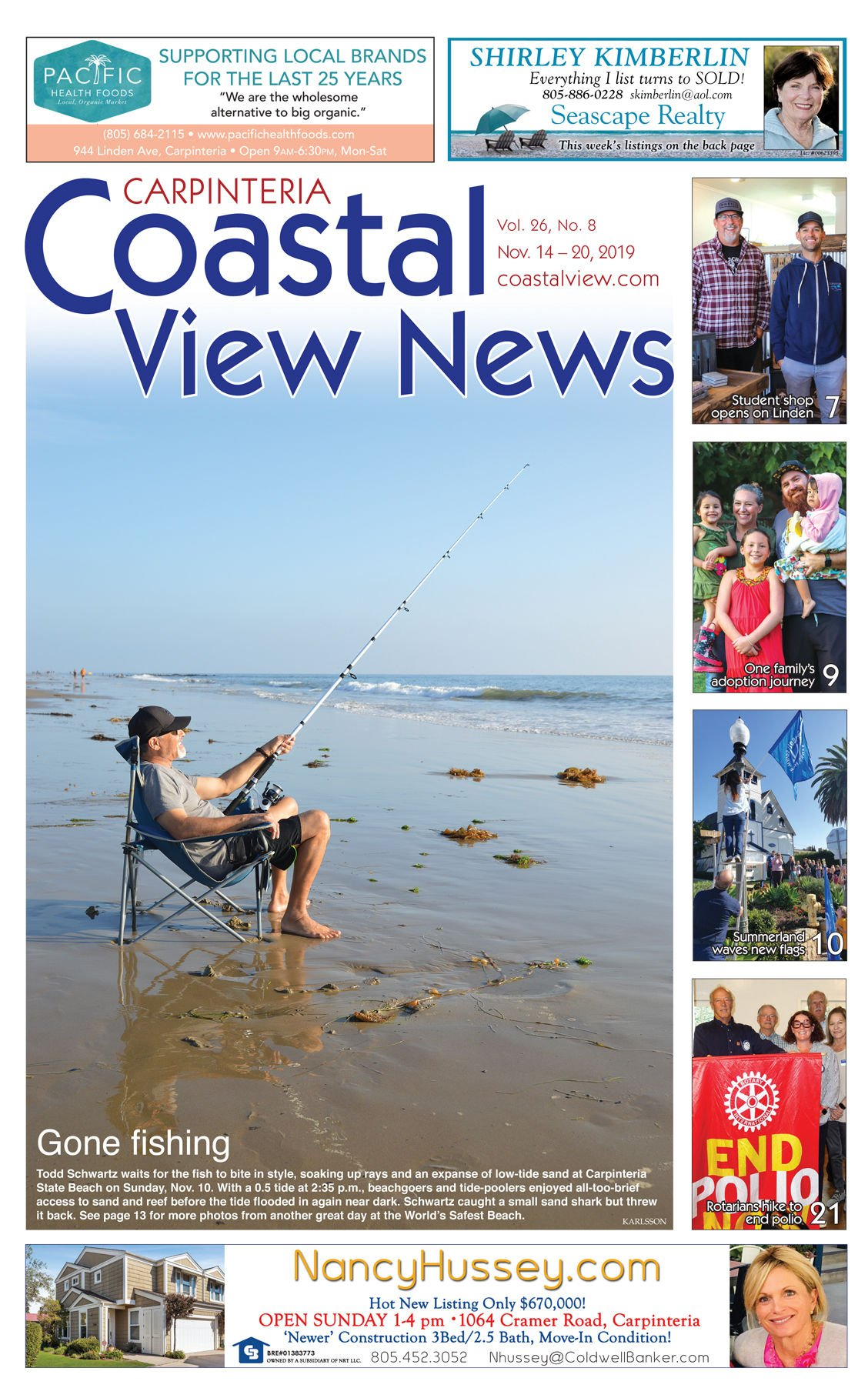 Coastal View News • November 14, 2019