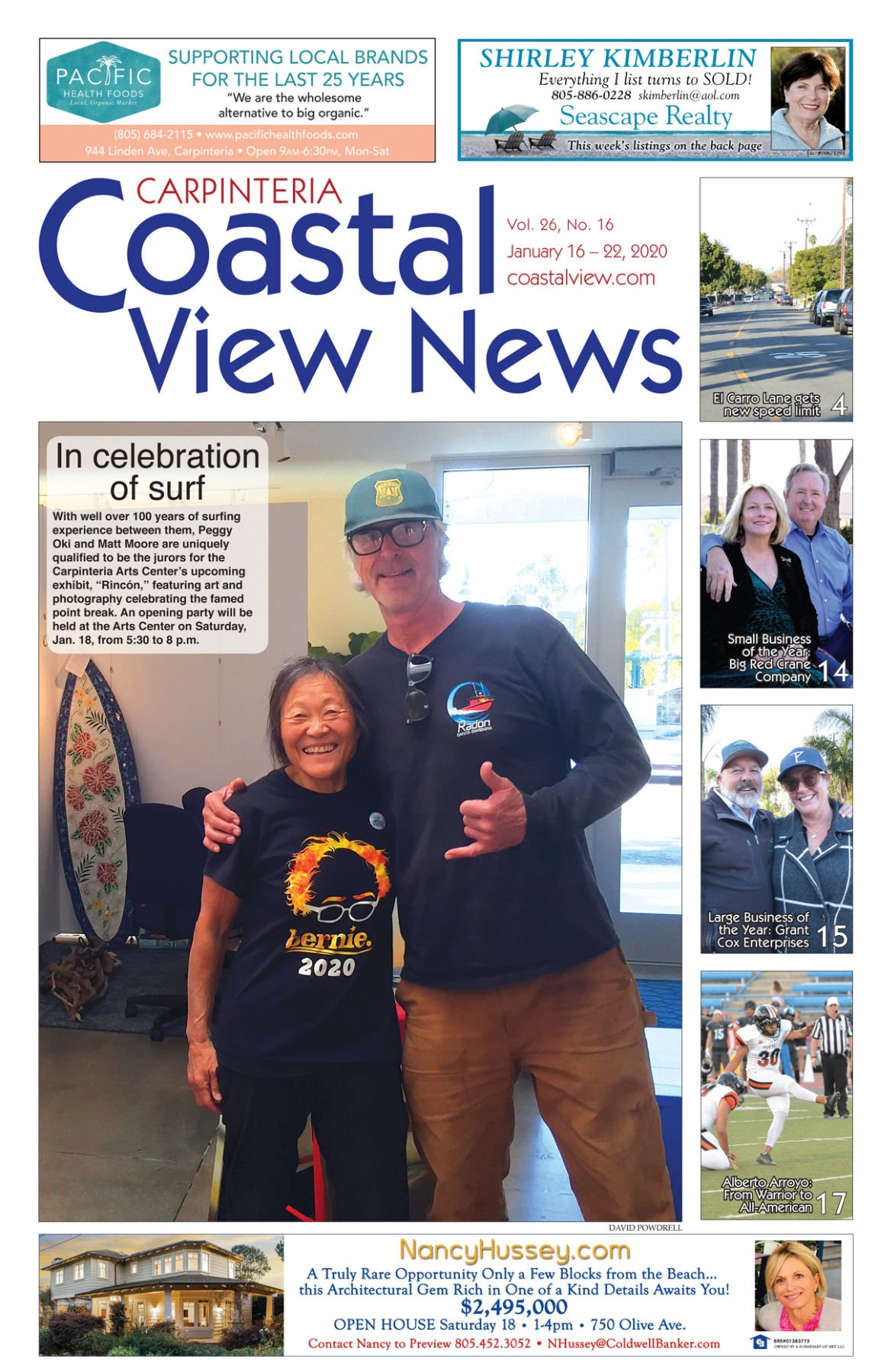 Coastal View News • January 16, 2020
