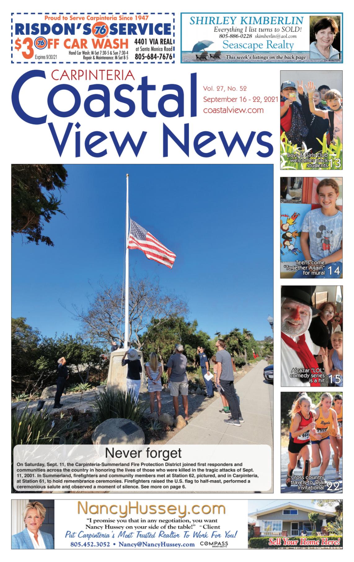Coastal View News • September 16, 2021