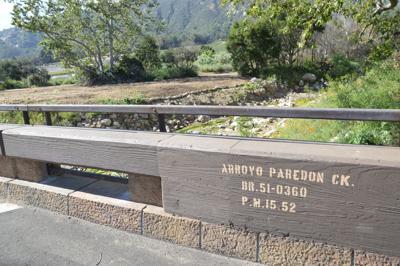 Arroyo Paredon