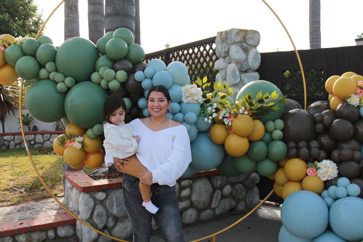 Tanya Castillo turns balloon bunches into showstopping sustainable art