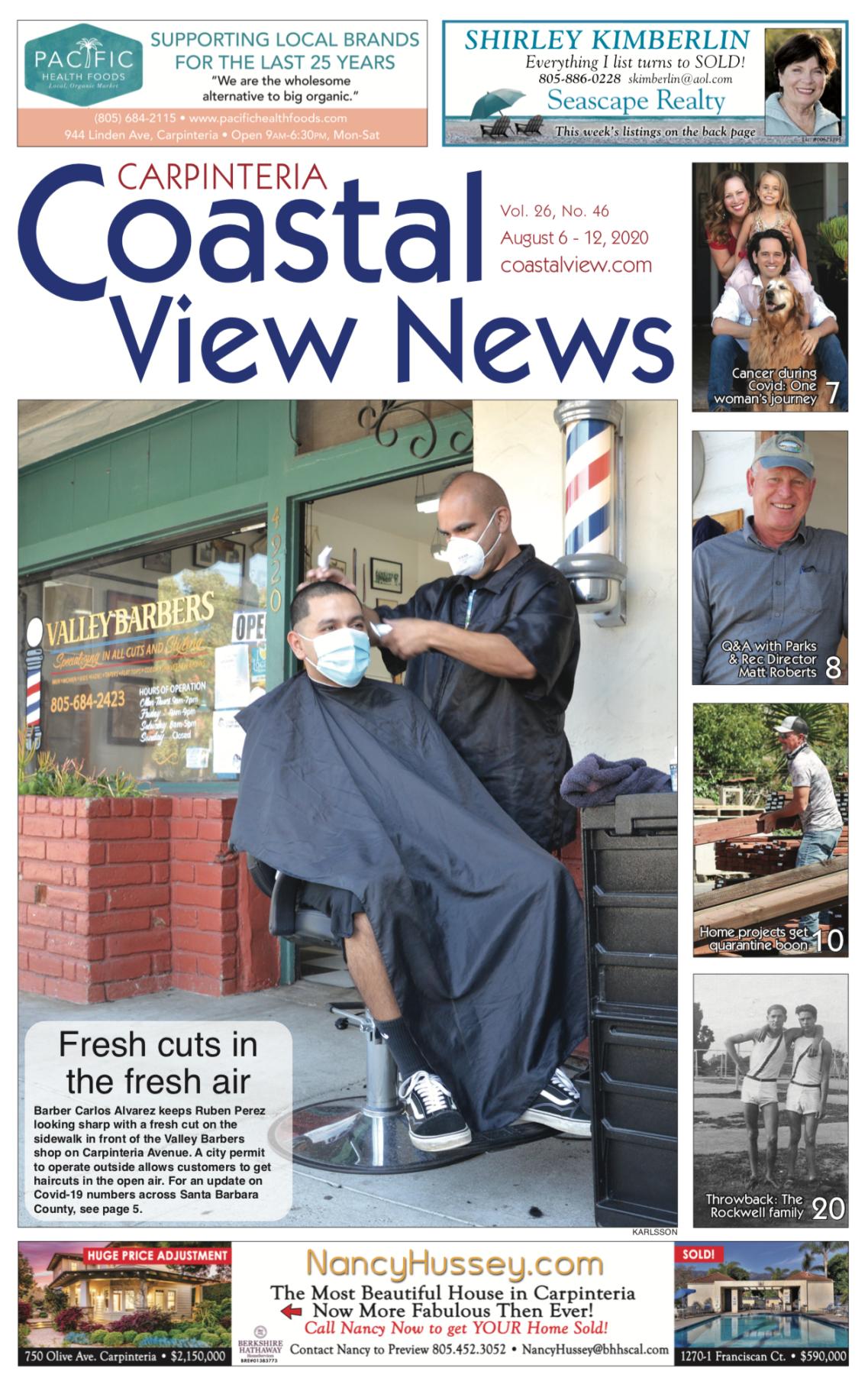 Coastal View News • August 6, 2020