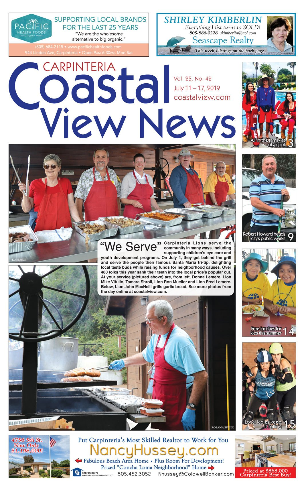 Coastal View News • July 11, 2019