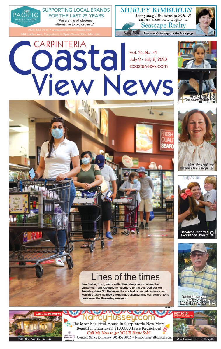 Coastal View News • July 2, 2020