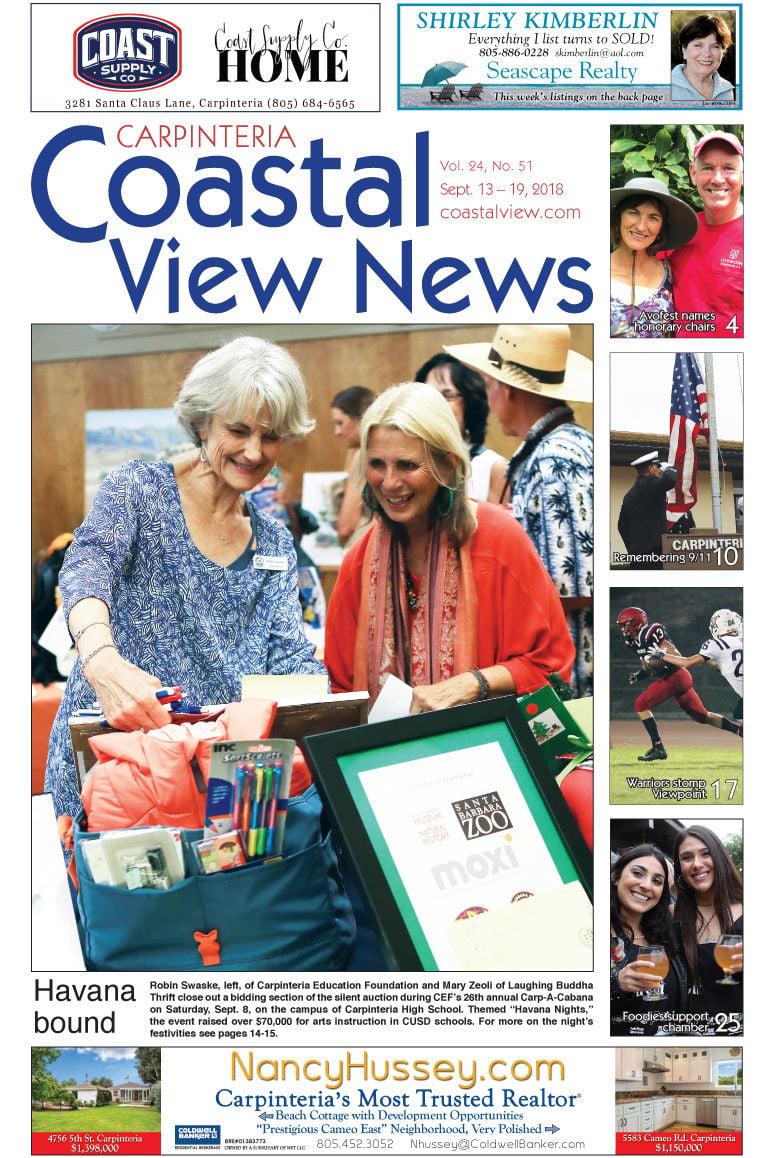 Coastal View News • Sept. 13, 2018