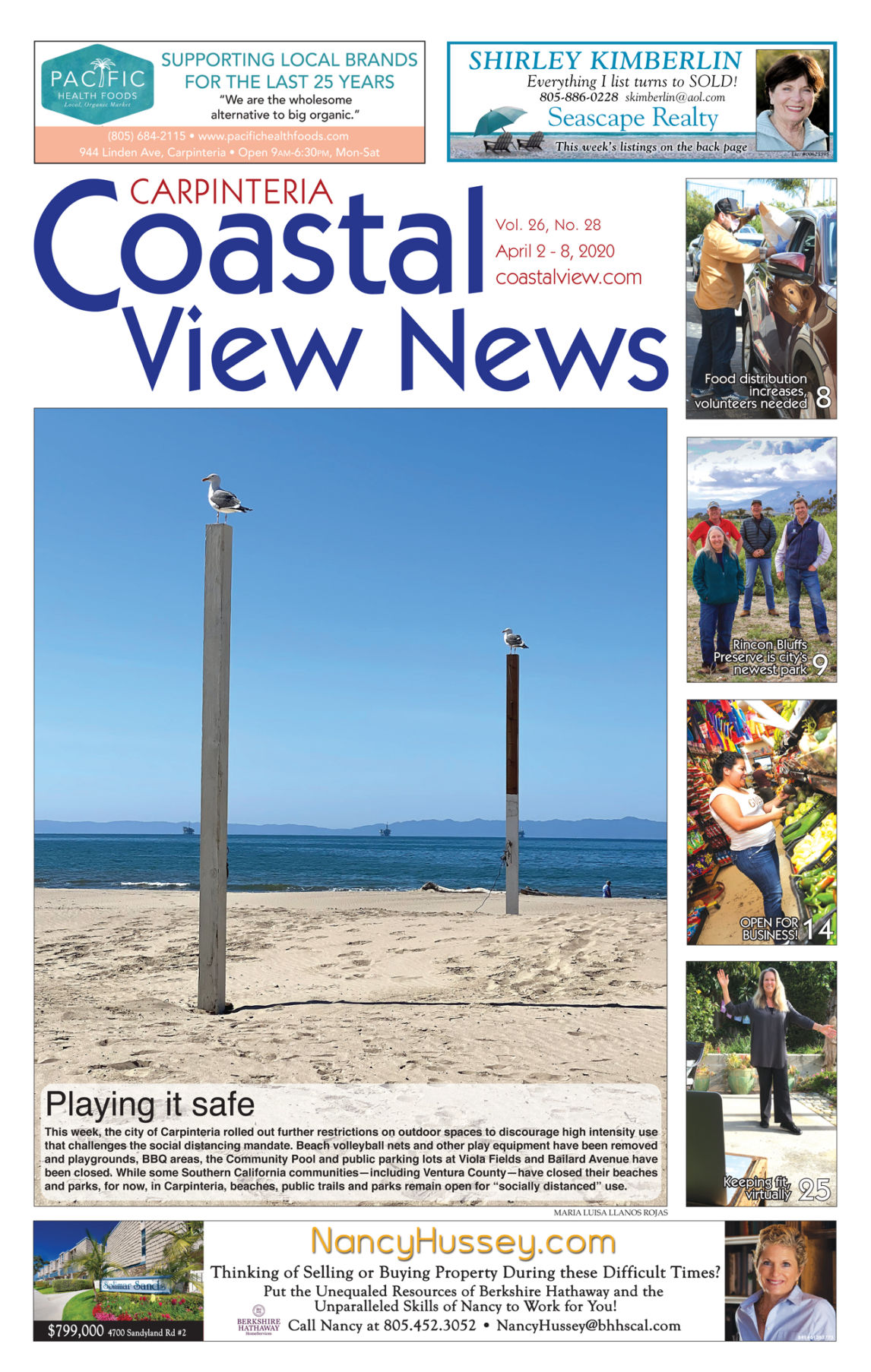 Coastal View News • April 2, 2020