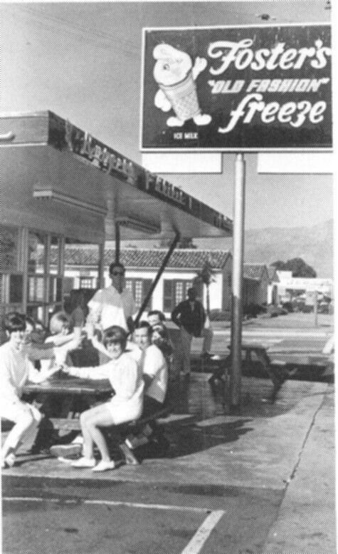 Fosters Freeze in 1967