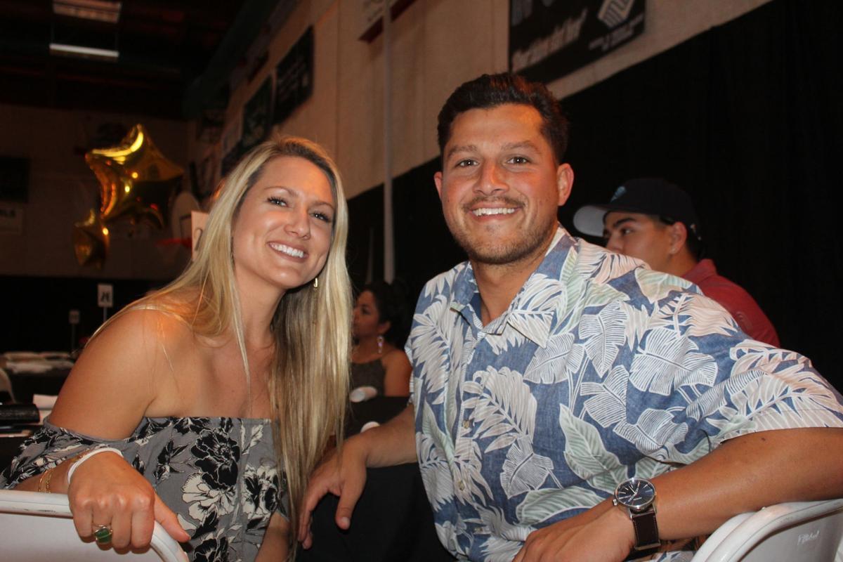 Katie Thompson and Julian Lopez