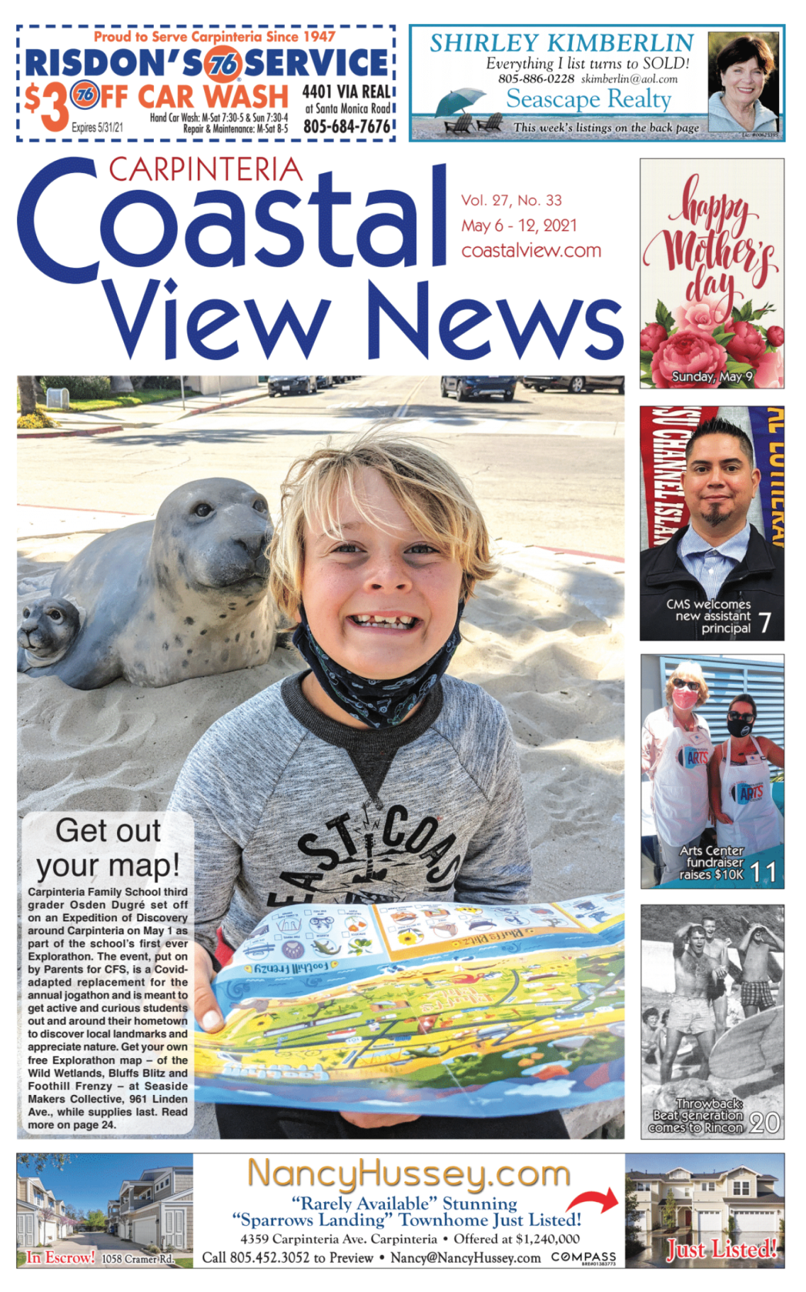 Coastal View News • May 6, 2021