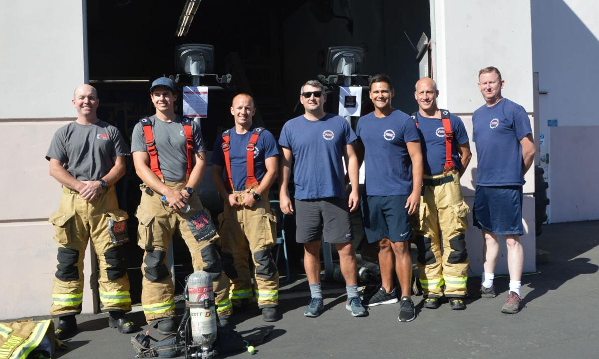 Carpinteria-Summerland firefighters