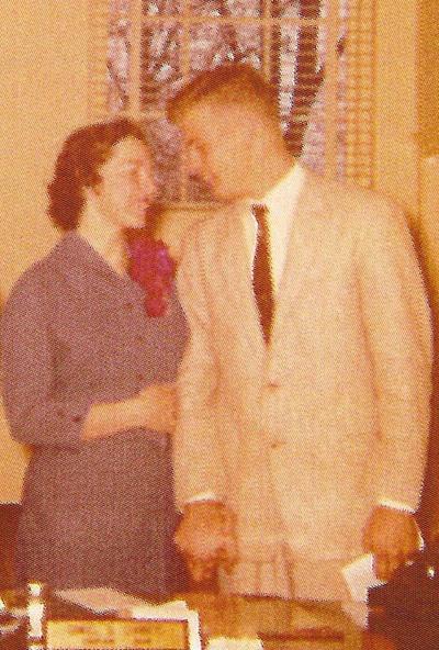 Judith (Williams) and Bernard Jones