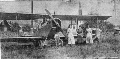 World War I JN-4