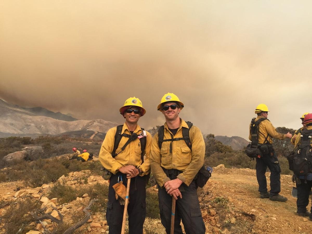 Firefighters, dads and Carpinterians: Getting to know the men behind the blaze