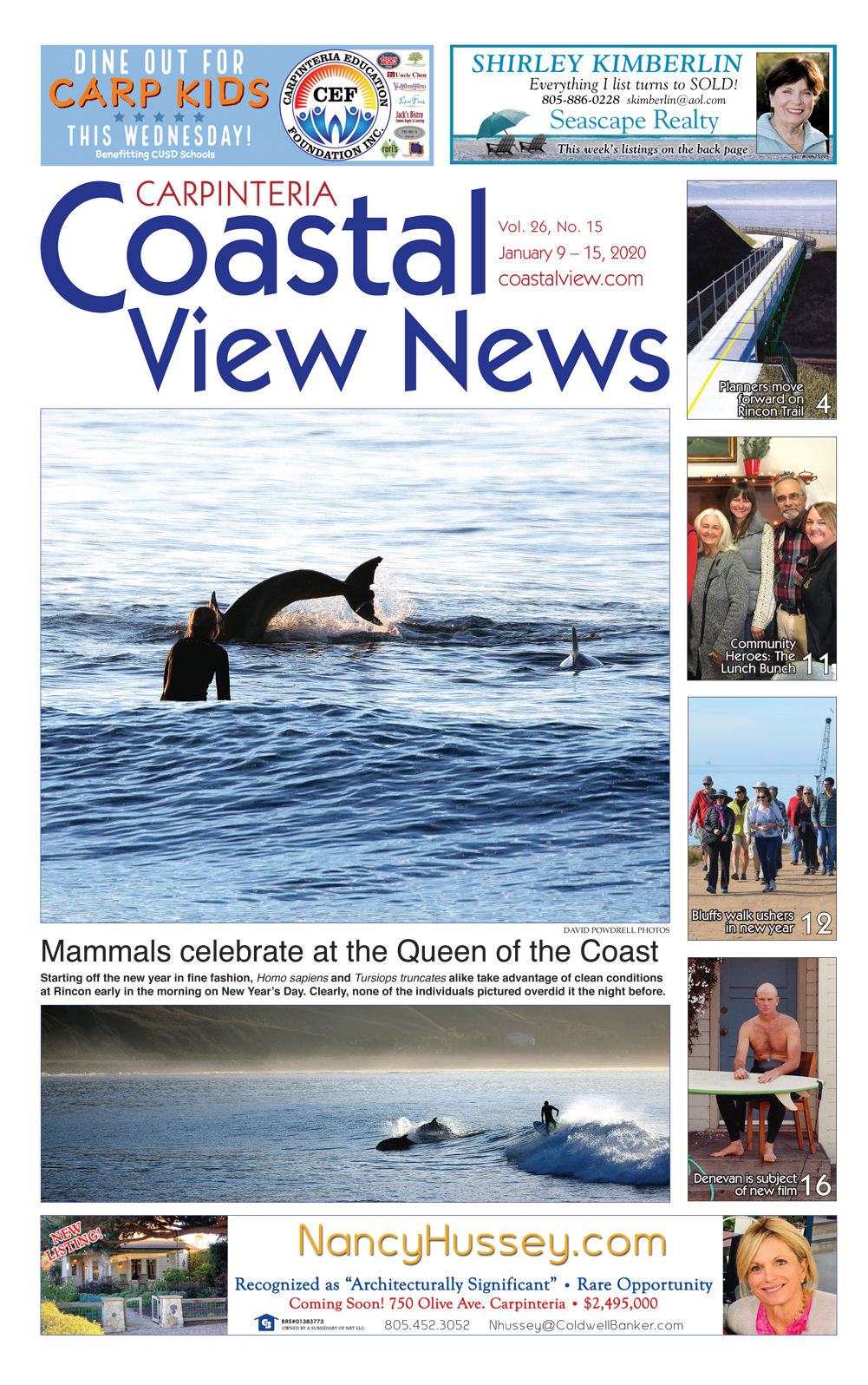 Coastal View News • January 8, 2020