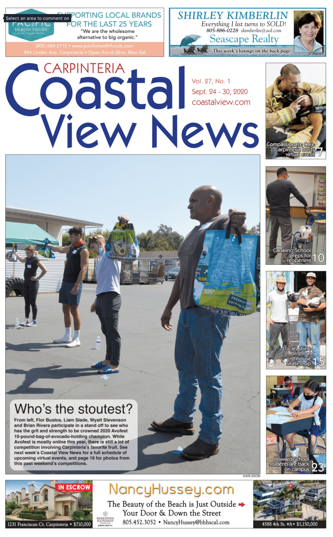 Coastal View News • September 24, 2020