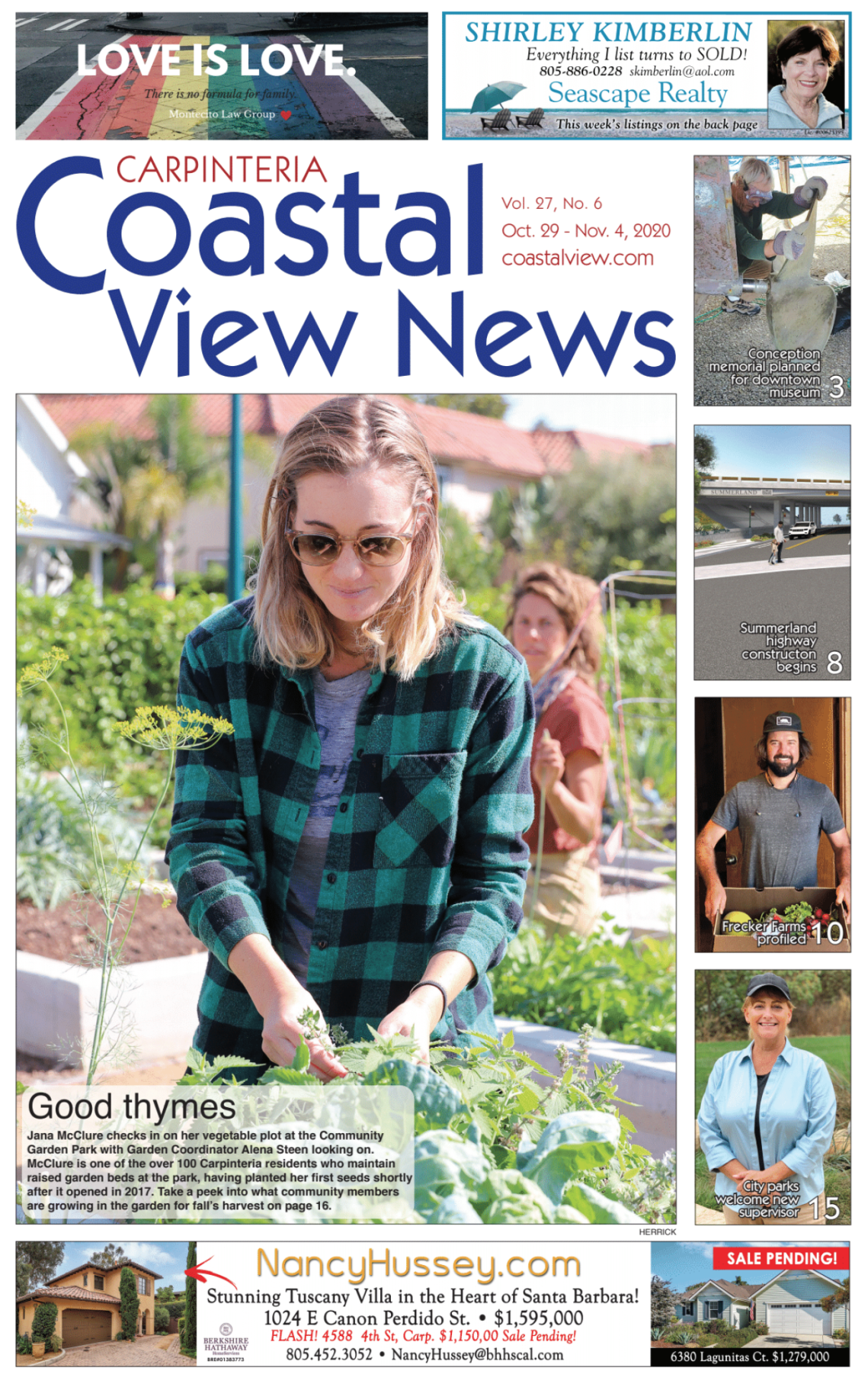 Coastal View News • October 29, 2020