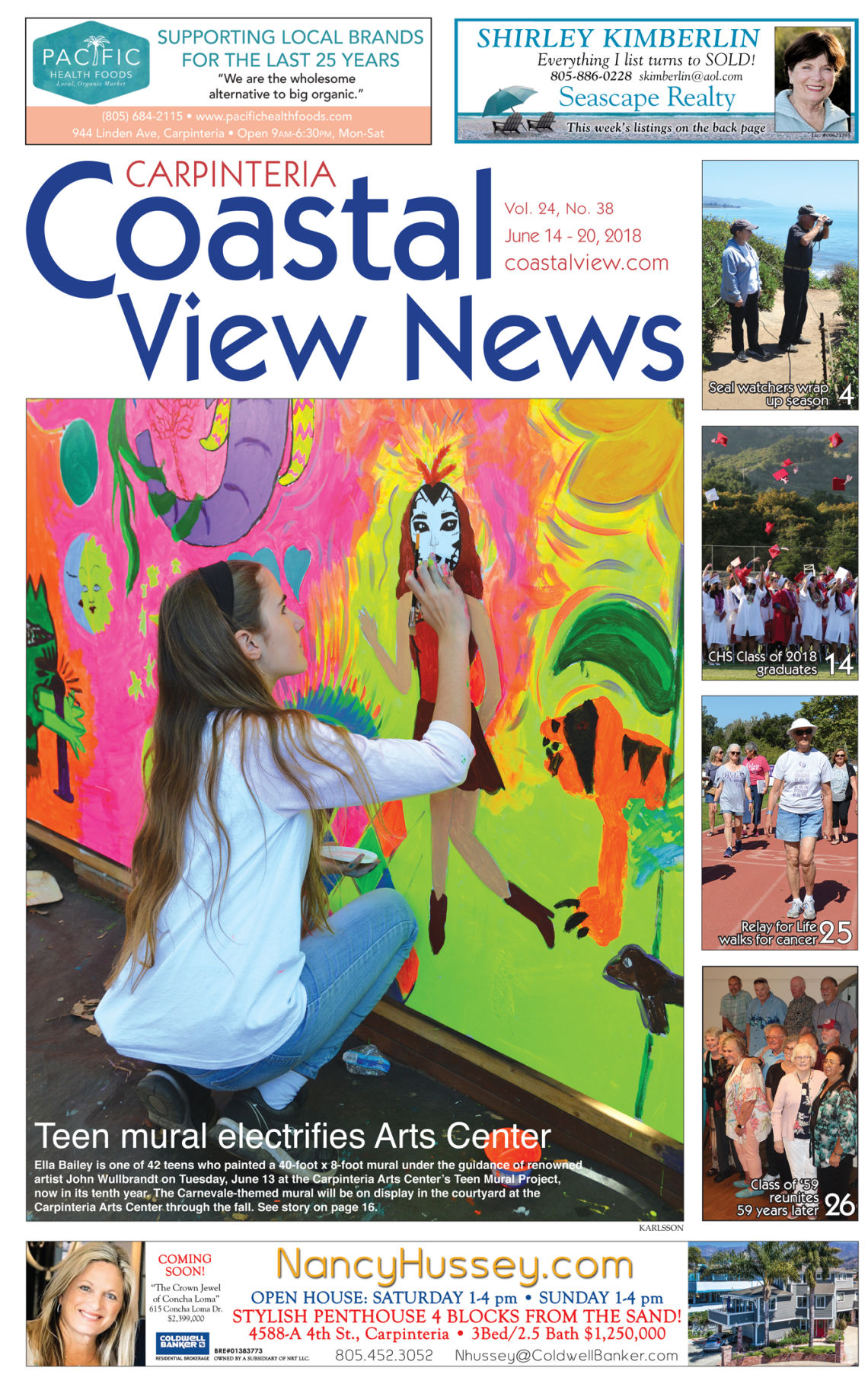 Coastal View News • June 14, 2018