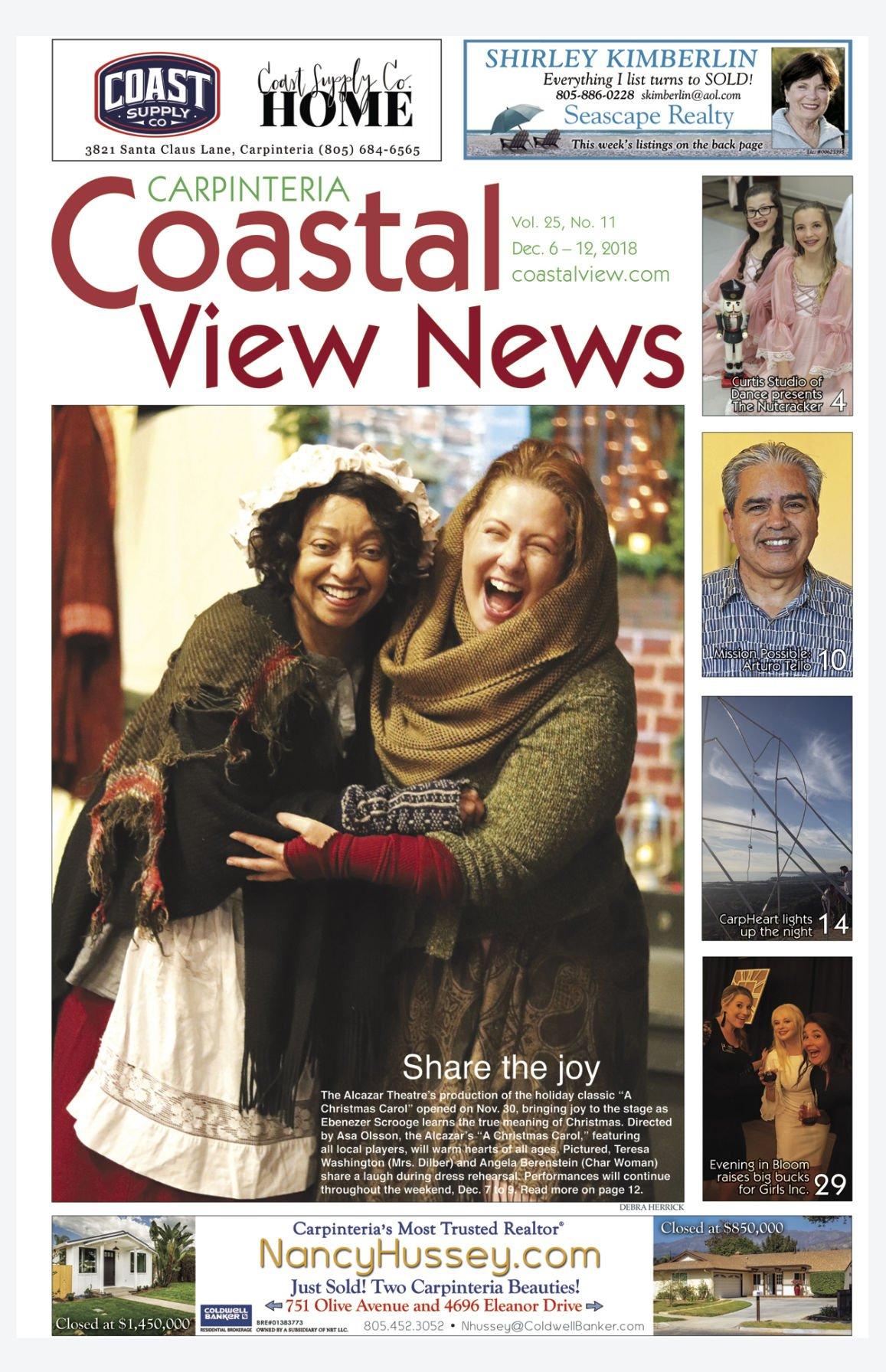 Coastal View News • December 6, 2018