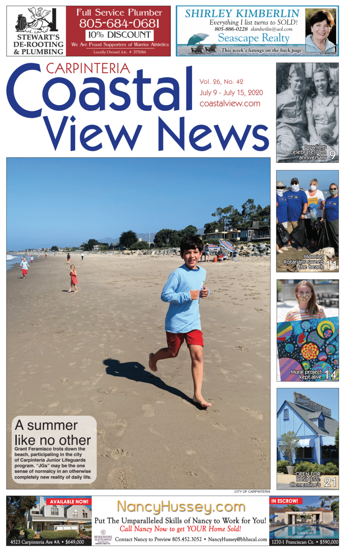 Coastal View News • July 9, 2020