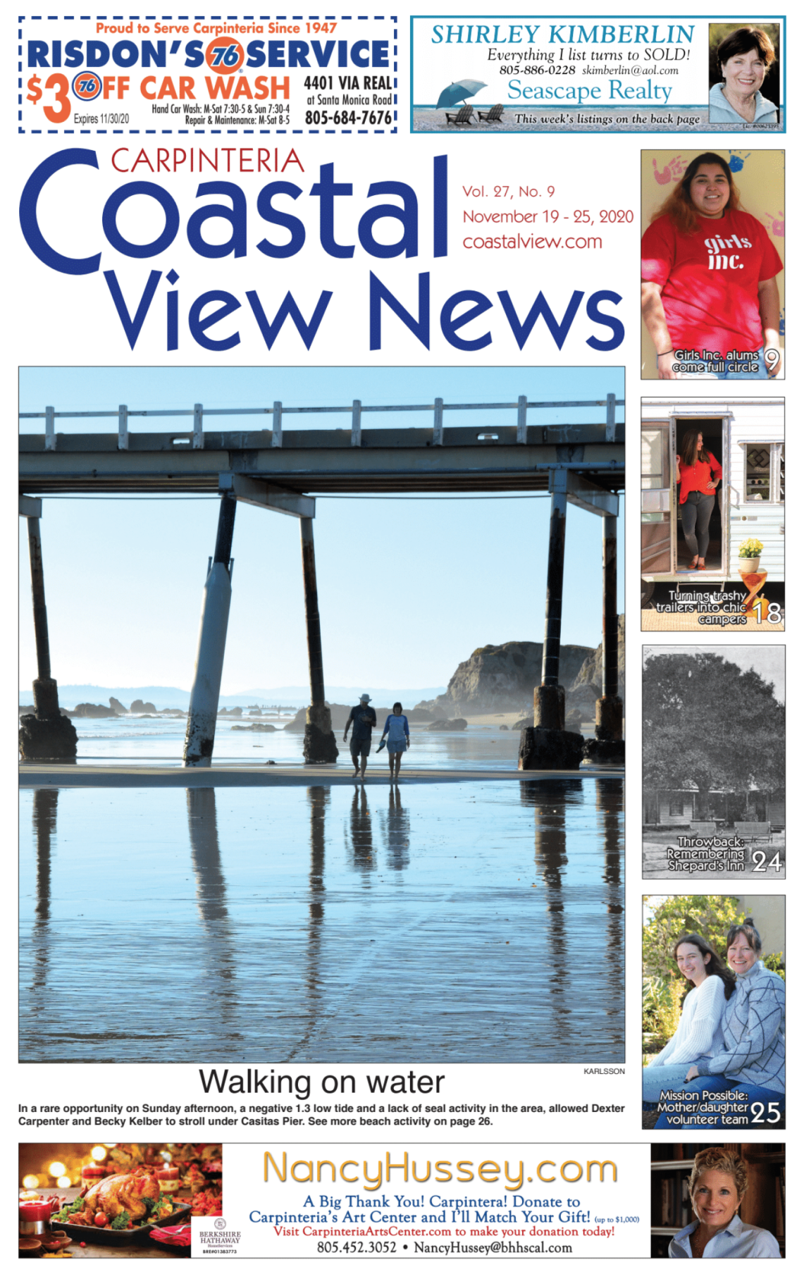 Coastal View News • November 19, 2020
