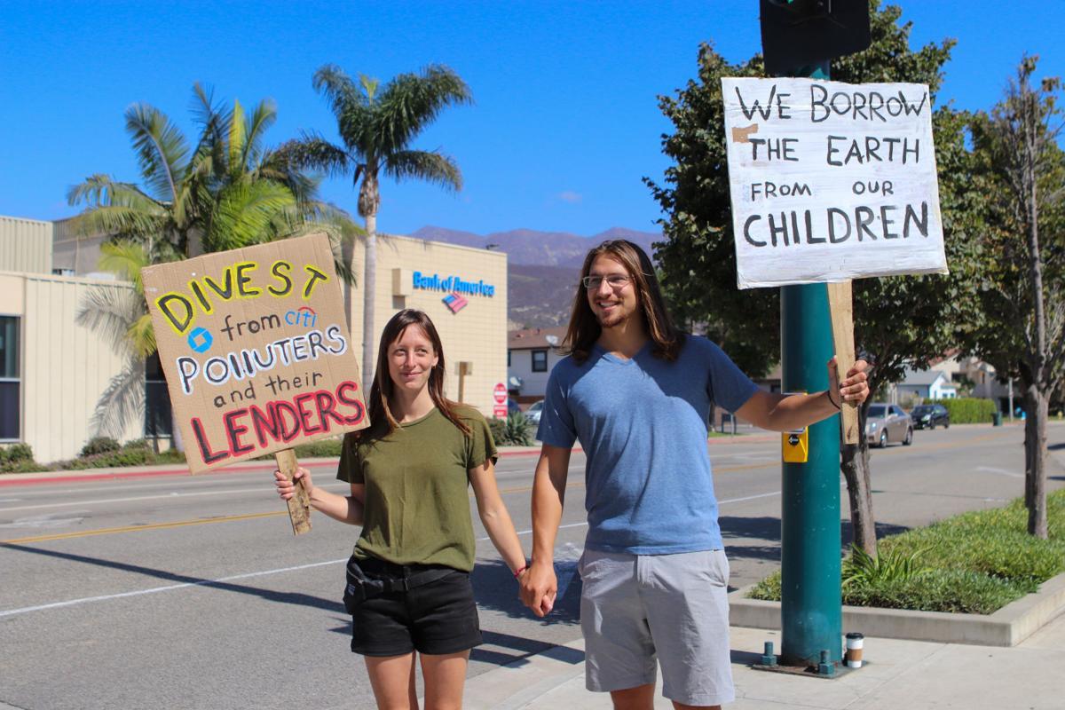 Carpinterians demand action against climate change